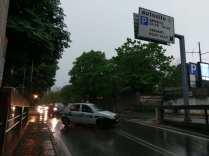 polizialocale allagamenti sottopasso via milano 09052018 (1)