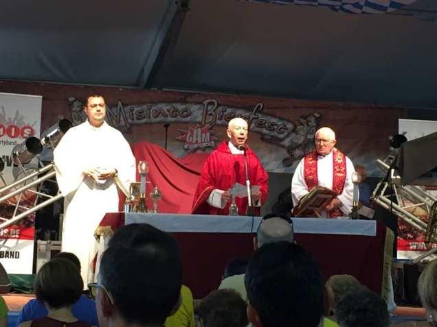 santa messa misinto bierfest