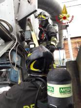 incendio ceriano al silos 05102018