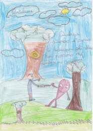 20190119 disegni bimbi contro abbattimenti via Roma (4)