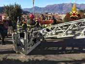 soccorso persona campanile di luino pompieri 15012019