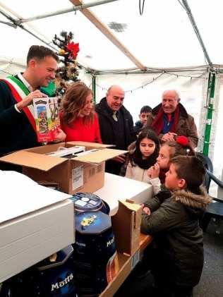 panettoni dante cattaneo e michele castelli a genova dic 2018