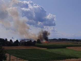 20190713 incendio campagna tra Saronno e Gerenzano campo dei fiori (1)
