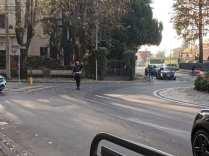 20191205 polizia locale traffico via roma