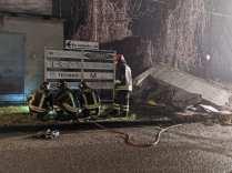 20200217 fuga gas caronno pertusella vigili del fuoco notte (3)
