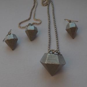 Schmcuk-Beton-Diamanten
