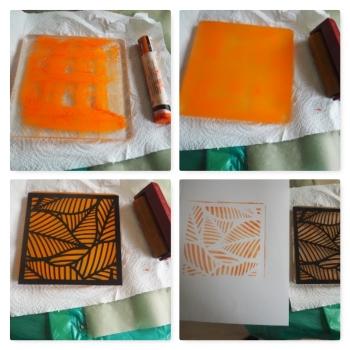 Drucken mit Gelpress