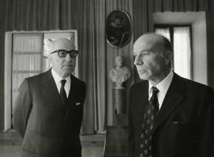 Paolo Baffi e Guido Carli