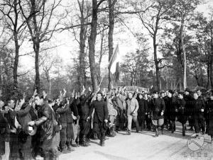 Mussolini visita il Circeo