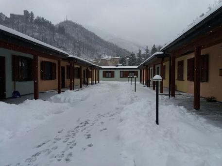 Maltempo: neve in zone sisma Marche, preoccupa ghiaccio