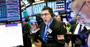 New York Stock Exchange Coronaviurus reaction