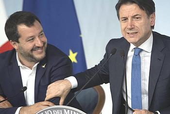 Italy: Cabinet at Chigi Palace