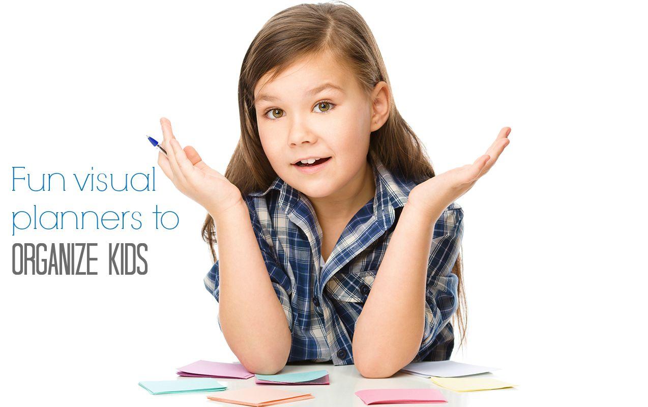 3 Smart Visual Planning Charts For Unorganized Kids