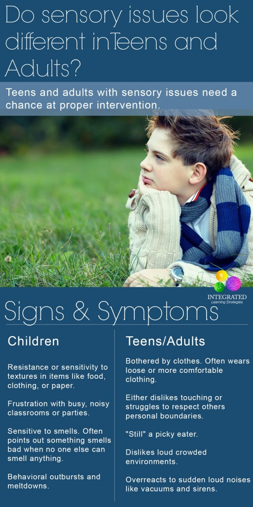 Does a Sensory Processing Disorder (SPD) Look different in Adults versus Children | ilslearningcorner.com
