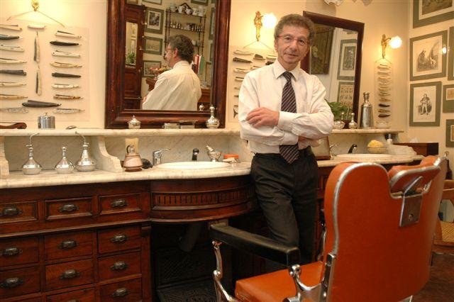 Alain, maître barbier