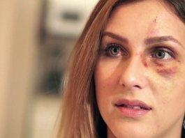 Melissa, vittima di violenza