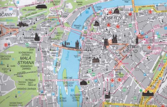 Mappa Praga