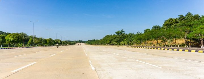 Embouteillage à Naypyidaw