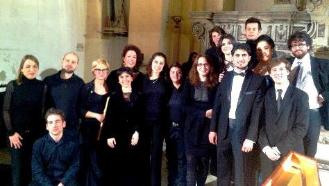 L'Ensemble giovanile della Pietà dei Turchini in concerto a Napoli nel dicembre 2012