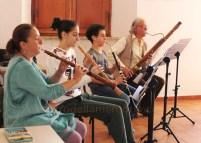 oboi barocchi, taille e fagotto barocco