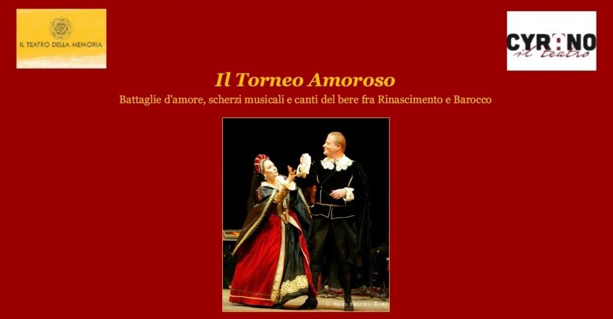 """""""Il Torneo Amoroso"""" al Teatro Cyrano di Roma"""