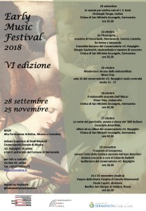 Latina early music Festival
