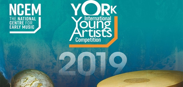 "Bando 2019 per ""York Early Music International Young Artists Competition"""