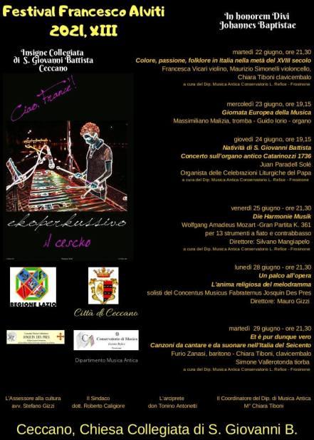 Festival Francesco Alviti 2021