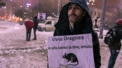 "anonymous, february 8 - ""Liviu Dragnea, people are watching you, man"""