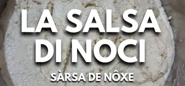 Salsa di noci, ricetta della salsa di noci