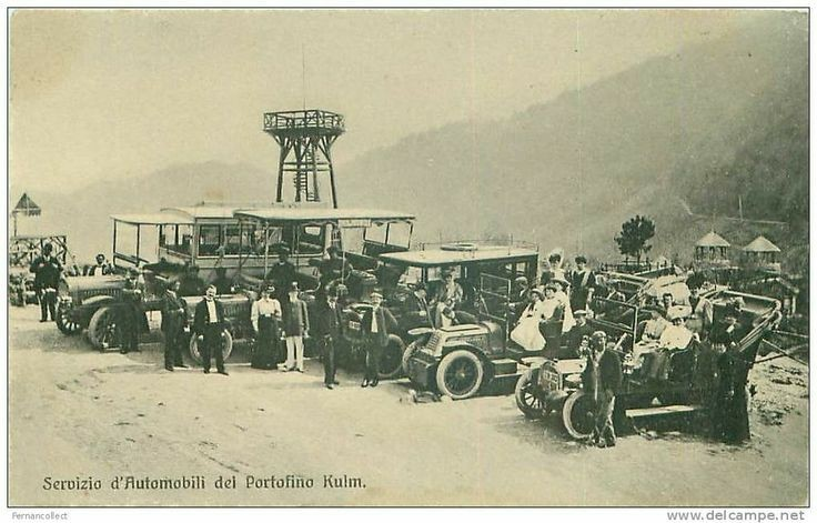 Portofino Vetta, Ruta di Camogli-Kulm
