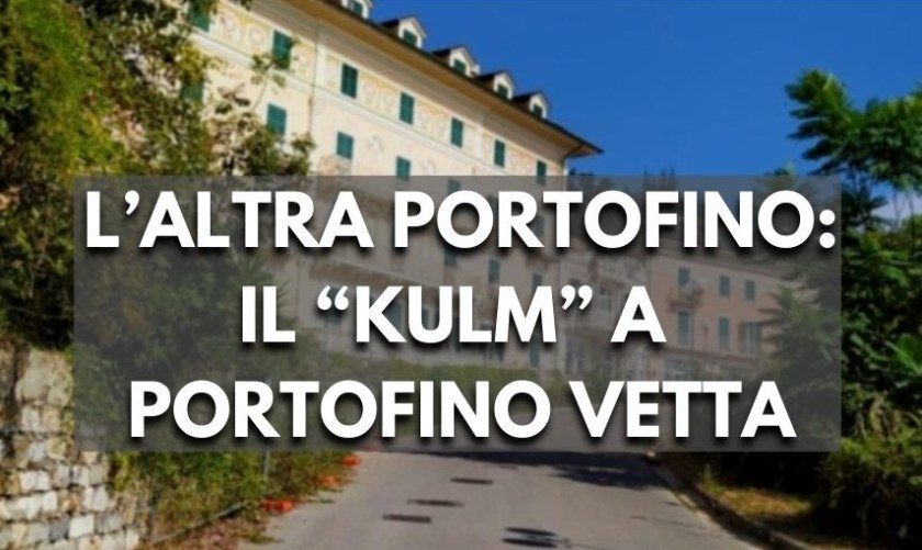 Portofino vetta, Portofino Kulm