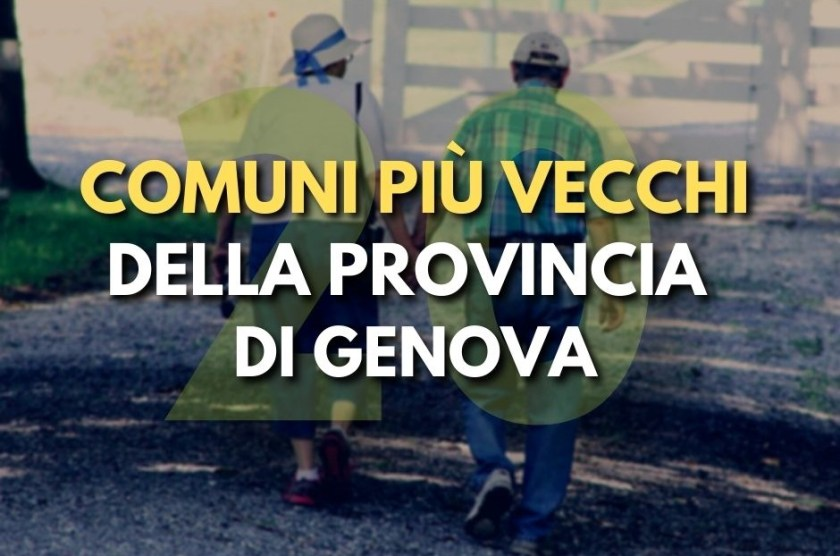 Comuni della Liguria