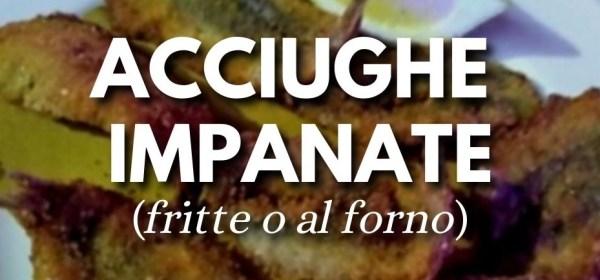 Acciughe impanate