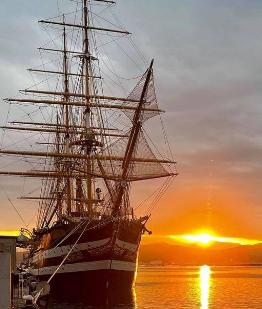 Amerigo Vespucci, nave scuola della Marina Italiana