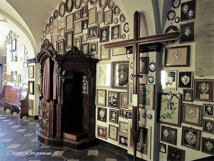 Santuario di Montallegro, Ex Voto
