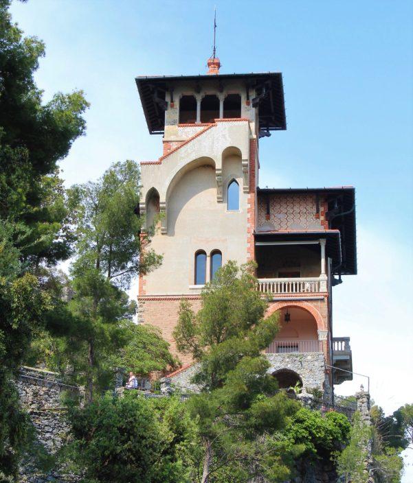 Castello Odero, Passeggiata dei Baci, Portofino