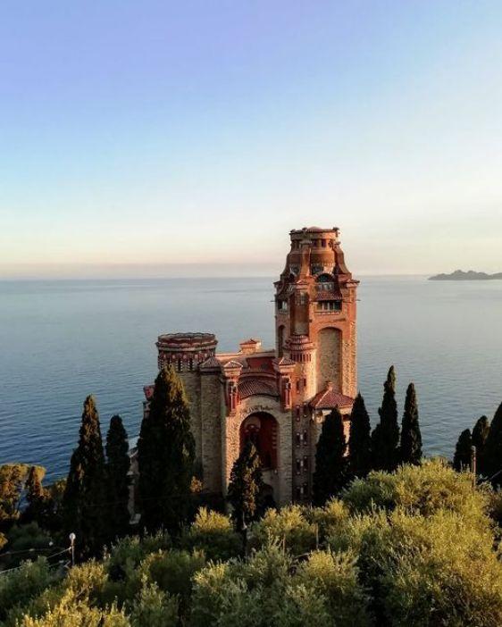 Castello di Sam Benelli a Zoagli