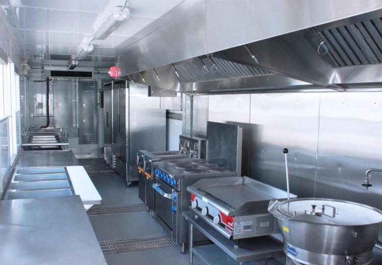 модульная кухня в контейнере