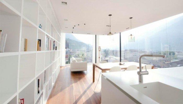 soffitto parete radiante attico Bolzano