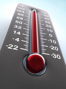 Temperatura impianto di riscaldamento