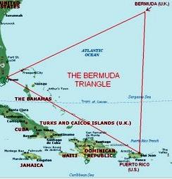 Explicando el triangulo de las Bermudas