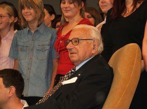 Nicholas Winton en octubre de 2007. (Click para zoom)