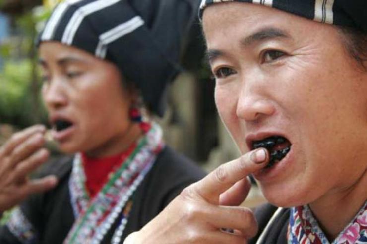 Ohaguro - Trend Kecantikan Masyarakat Jepun Purba Mewarnakan Gigi Menjadi Hitam | Iluminasi