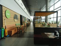 """Bar restaurante comida Aeroporto """"El Dorado"""" Bogotá Colômbia"""