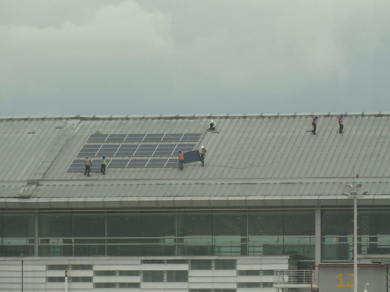 """Aeroporto """"El Dorado"""" de Bogotá, Colômbia energia sustentável 4"""