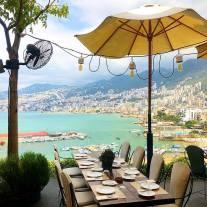 Hospitalidade Sky Management comida mediterrânea Khazen Beirute Líbano Jounieh Iluminação lighting design arquitetura