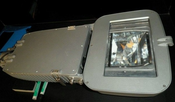 Luminario con lámpara de plasma