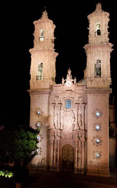 Templo de Santa Prisca en Taxco