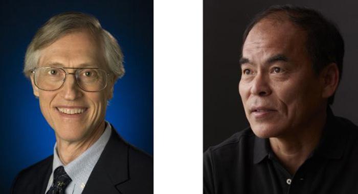 John Mather y Shuji Nakamura
